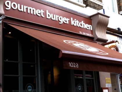 GBK  Gourmet Burger Kitchen